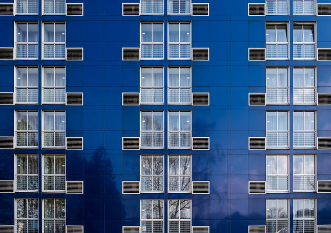 Hotelfacade Architecture_collection Pattern, Texture, Shape And Form Wolfsburg Architectural Detail Architectural Feature Architecture Backgrounds Building Building Exterior Built Structure City Full Frame Minimalism Minimalist Photography  Minimalobsession Modern No People Office Building Exterior Pattern Repetition Side By Side Window