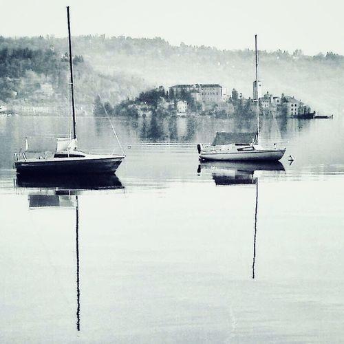 Nautical Vessel Water Transportation Mode Of Transportation Reflection Moored Lake