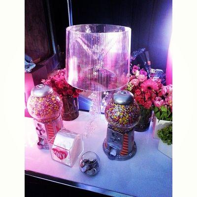 Candy machines are always a good idea. @maybellinecan media lounge Wmcfw Torontofashionweek Fashionweek Backstage fashion style candy instagood instamood toronto igers igerstoronto