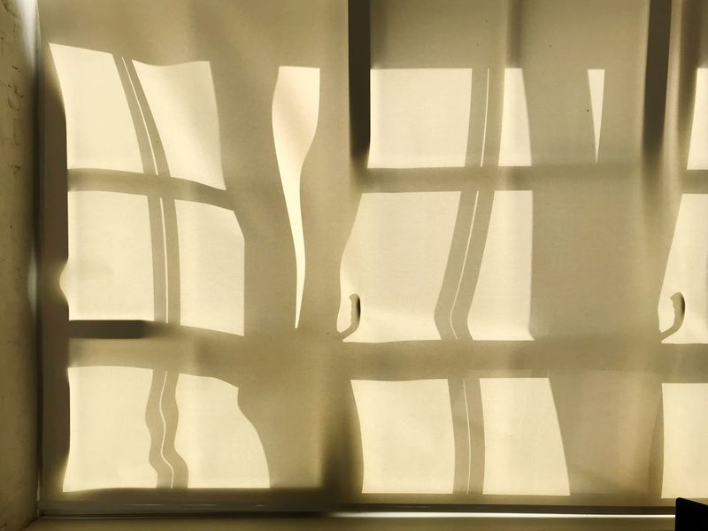 Open Window Summer Backgrounds Blinds Window Indoors  Shadow Sunlight Day Lifestyles Wall - Building Feature Architecture Silhouette Curtain Home Interior Pattern Window Frame Focus On Shadow