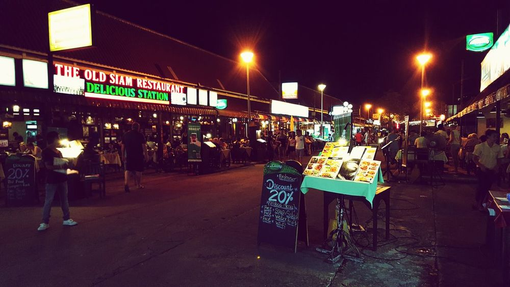 night market Outdoors Street Dining