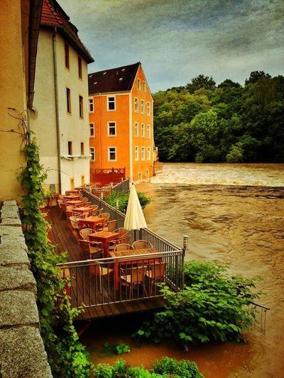 High Water Hochwasser Water_collection Saxony