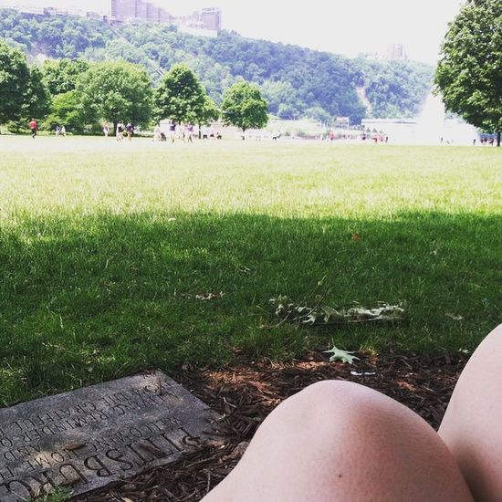 And I'll be right here Pointstatepark PGH 412 Treehuggersofig