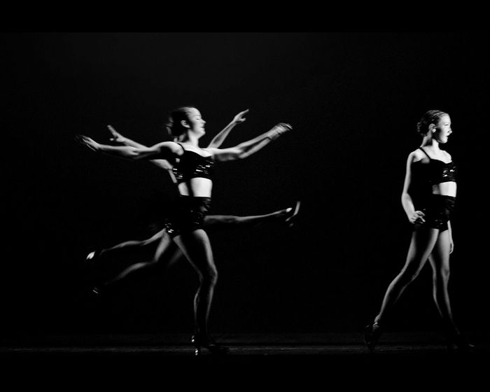 There are 3 dancers in this photo.. Perfectly overlapped Atlanta Jazz Theatre Jazz Stage Stagephotography Great Performance Dance Blackandwhite EyeEm Best Shots Captured Moment Light And Shadow