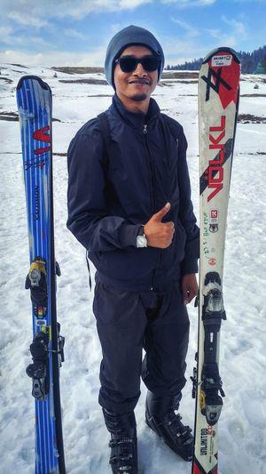 Skiing Warm