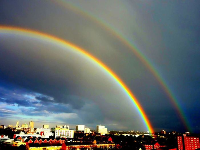 """"""" Life Is Like A Rainbow, You Need Both The Rain And Sun To Make The Colours Appear"""" Rainbow Beauty In Nature"""