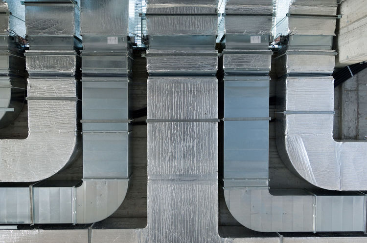 Architecture Close-up No People Reflexions Silver - Metal Technical Tecnical Tubes