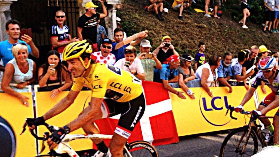 Tour de France 2015 Maillot Jaune Cancellara Durdur. Mur De Huy