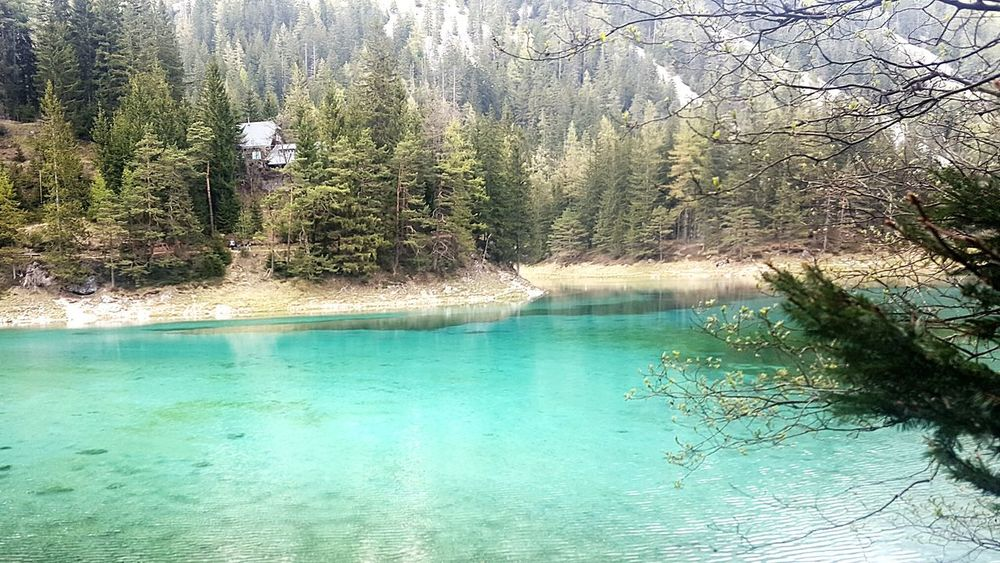 Adventuretime With Family ❤ Greensea Austria 🇦🇹 Green Water Green Color Green Nature Beauty In Nature Amazing Place Itsmagic