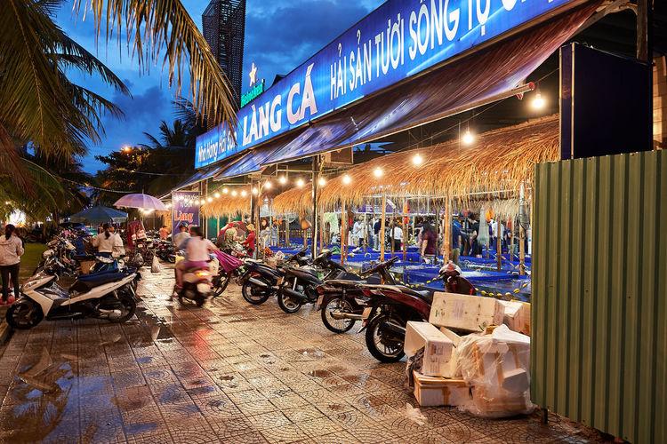 EyeEmNewHere Market Vietnam Danang Danangbeach Fish Fish Market Illuminated Night Nightlights