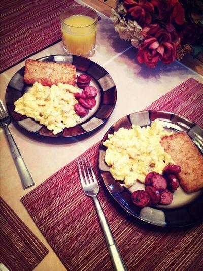 Makin Breakfast Every Morning :)