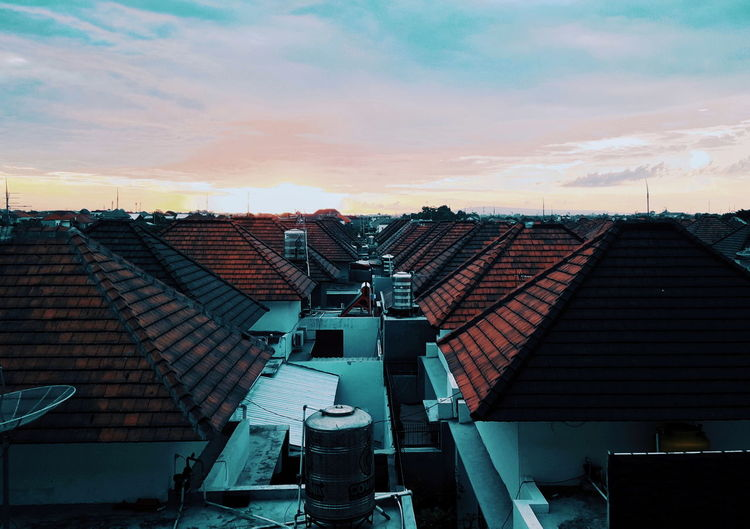Monday Morning at Bali Amateurphotography EyeEmNewHere INDONESIA Bali Morning Sun Sunrise Hotel View City Politics And Government Steps And Staircases Spiral Staircase Business Finance And Industry Steps Staircase Architecture Sky Building First Eyeem Photo Tiled Roof