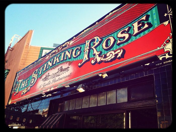 San Francisco North Beach Little Italy The Stinking Rose