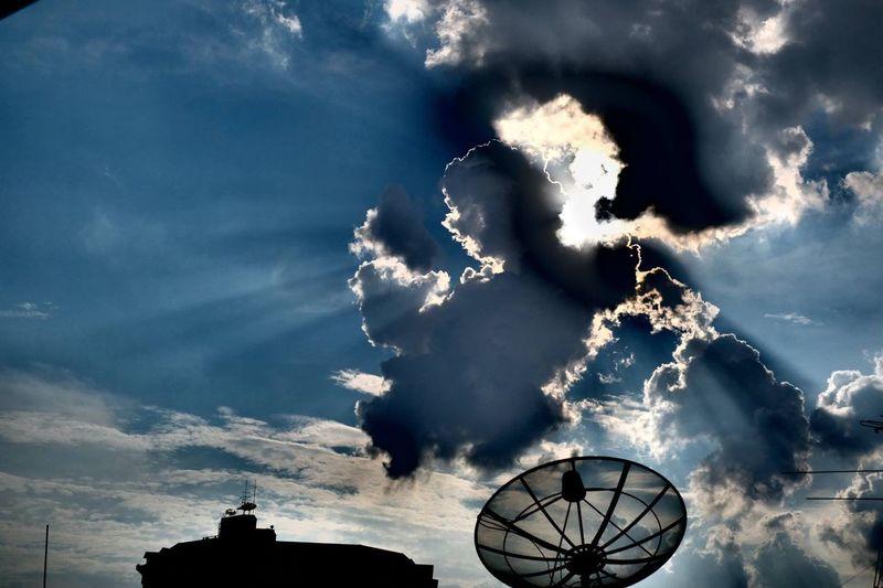 After the rain Fujifilm Fujifilm_xseries FUJIFILM X-T2 X-t2 Sky Cloud Cloud - Sky Thailand Bangkok Dainamic Tone