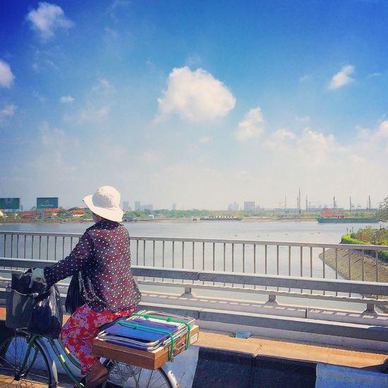 River Woman Vietnamese Saigon