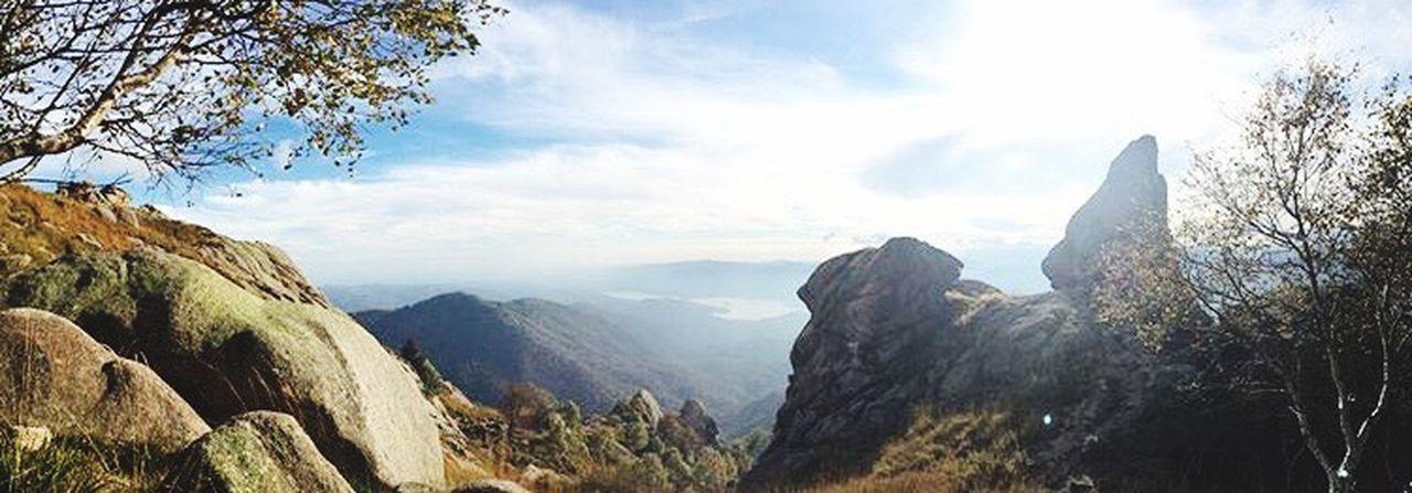 Passeggiando Montagna Paesaggio