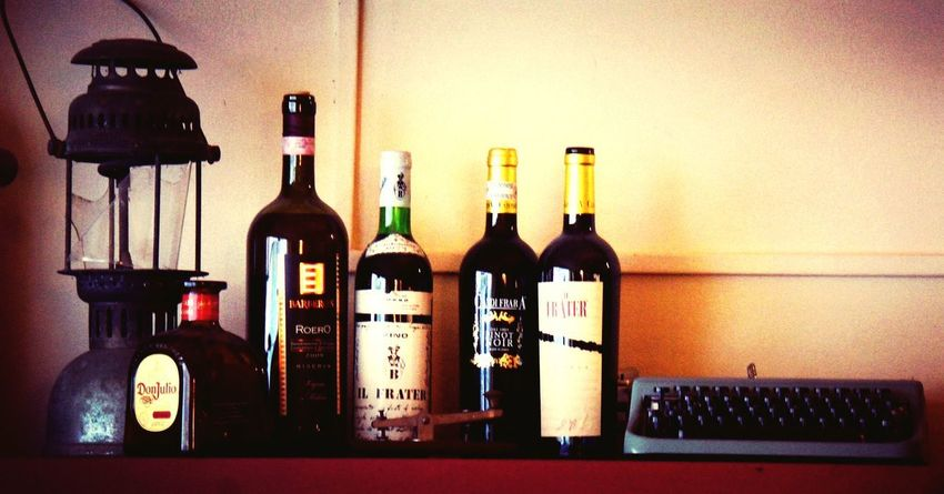 Bottle Alcohol Wine Bottle Drink Wine Indoors  Food And Drink