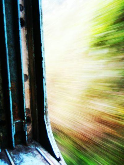 Train window click Multi Colored