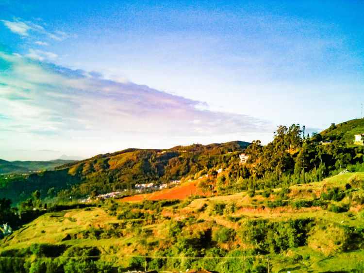 Nature Nature Landscape Beauty In Nature Sky Mountain Outdoors EyeEm Selects Mobilephotography Ootyclimate Ooty