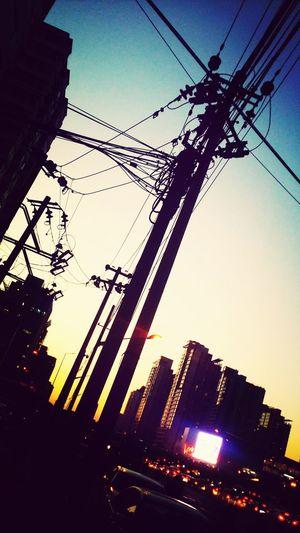Metropolis, Beijing! Beijing Sunset