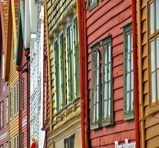 Full Frame Shot Of Multi Colored Buildings