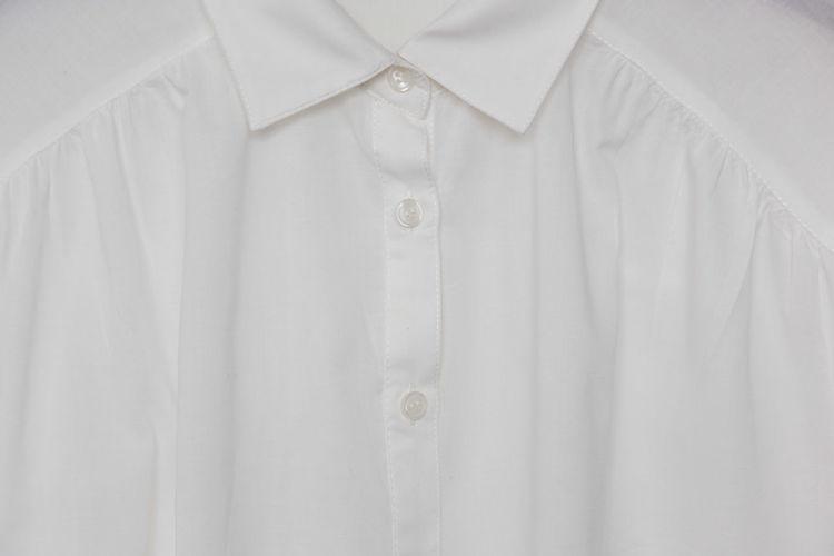 Close-Up Of White Shirt