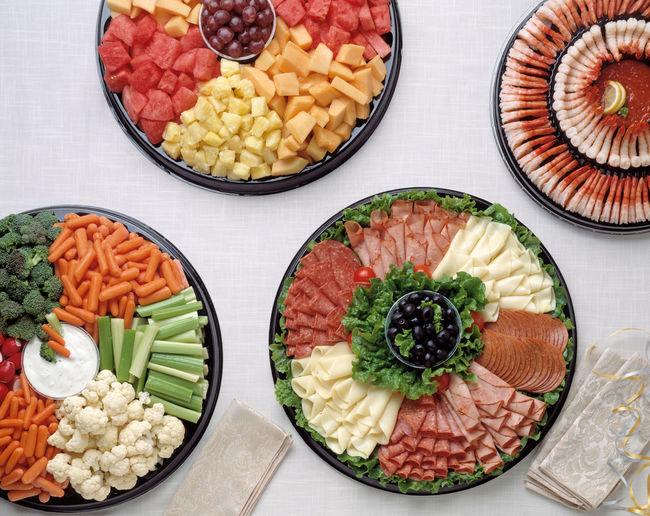 Party platters,