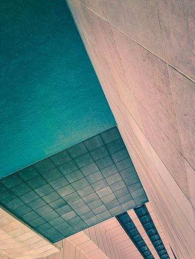 EyeEm Selects Low Angle View Hotel Angles And Lines Perspective Built Structure Day No People Water Outdoors Architecture Modern Nature