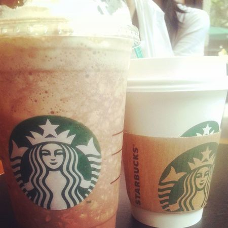 Hi Starbucks ~\(≧▽≦)/~