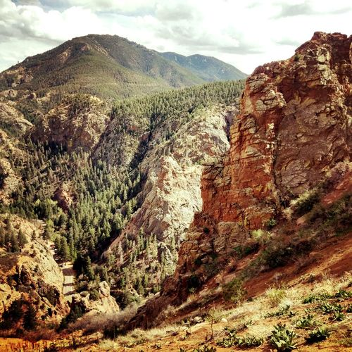 View of Cheyenne Canyon from Gold Camp Rd First Eyeem Photo