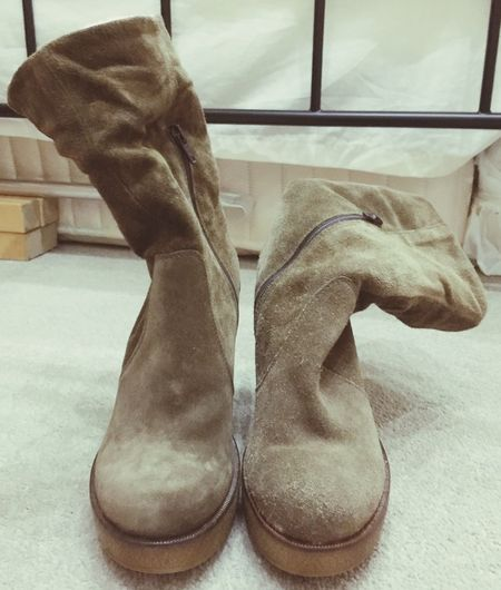 Boots Brown Boots Suade