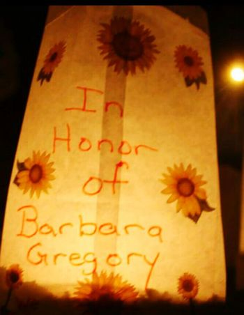 Relay for life Relay For Life In Honor Of My Aunt  Shes A Fighter So Much Love Her Favorite Sunflowers🌻 Night Photography Barbará All My Love 💜 Keep Fighting Cancer Survivor Cancer Sucks