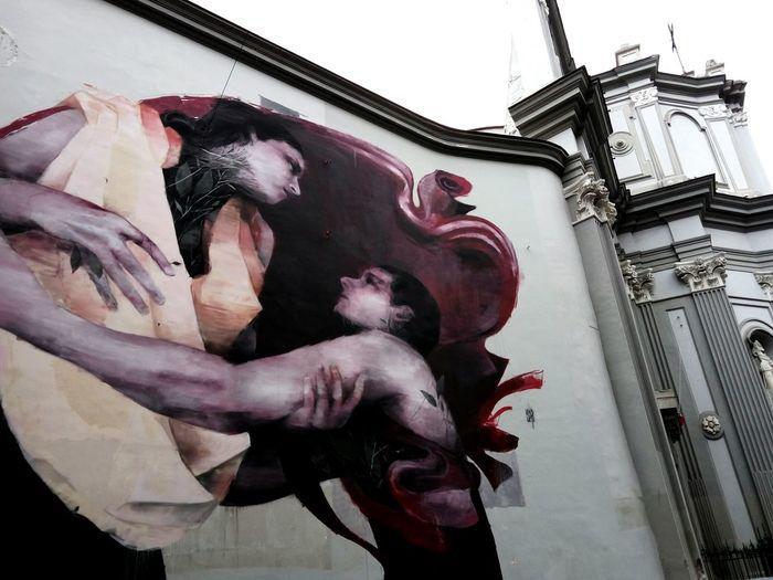 Streetart Bosoletti Napoli Italy Love Art Taking Photos