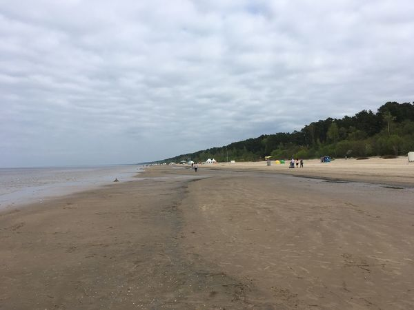 Beach Beauty In Nature Cloud - Sky Day Horizon Over Water Landscape Nature No People Outdoors Sand Scenics Sea Shore Sky Tranquil Scene Tranquility Vacations Water