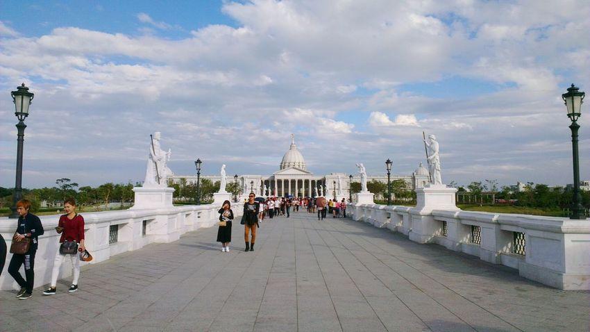 奧林帕斯橋~ Chimei Museum 奇美博物館 仁德區 台南市