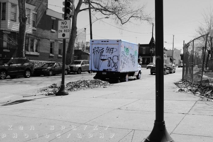 Graffiti City Truck Urbanphotography Urban Colors Streetphotography Streetart Philly Philadelphia Corner Streetcorner Street Streetart
