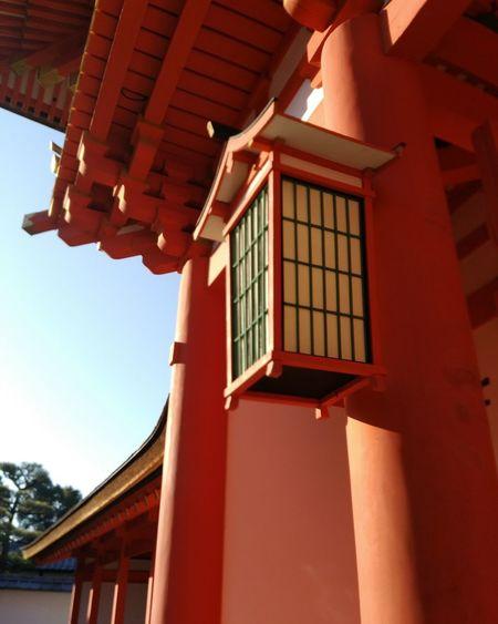 伏見稲荷大社 久しぶりの京都ドライブ💛 朝から素晴らしい場所で過ごす 神社 楼門 Moment Awesome ドライブ旅 京都 Sunny Scenery Japaneseshrine Landscape 冬の余暇 快晴 Kyoto, Japan Window Day Sky Outdoors