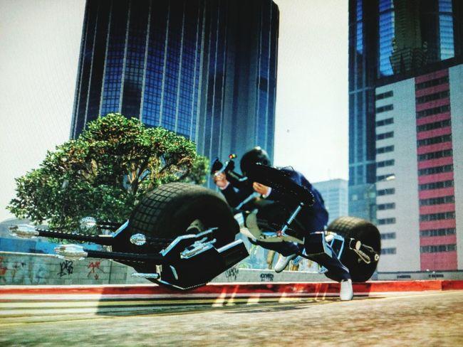 Grand Theft Auto V: The Batpod Batpod GrandTheftAuto Bikes First Eyeem Photo