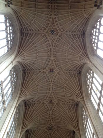 Ceiling Bath Abbey  City Of Bath World Heritage Site Famous Place Bath Abbey Stone Masonry Stone Mason Beatiful Roof Awesome Amazing Architecture The Architect - 2016 EyeEm Awards