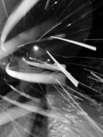Winter Winterscapes Wintertime Snow Blackandwhite Snow Windy Snow ❄ Street Falling Snow Illuminated Technology Close-up Street Scene White Line Electric Bulb Street Light