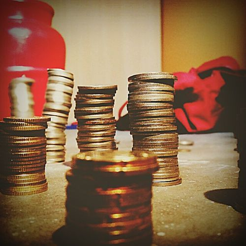 43 Golden Moments Goldencoins Tower Of Coins Piggybank Galaxys5photography Check This Out Money Savings Showcase June Home Is Where The Art Is