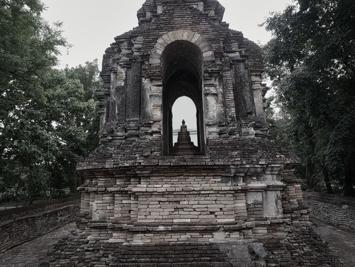 Old ruins of building