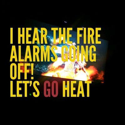 I hear the fire alarms going off... HeatNation HEATSTANDUP