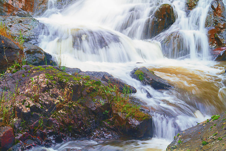 Dalanta Waterfall Vietnam Dalanta Vietnam Dalat Beauty In Nature Blurred Motion Day Falling Water Flowing Flowing Water Forest Land Long Exposure Motion Nature No People Outdoors Plant Power In Nature Rainforest Rock Rock - Object Scenics - Nature Solid Stream - Flowing Water Tree Water Waterfall