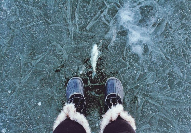 Why hate winter....when else can we walk on water? The Places I've Been Today EyeEm Best Shots EyeEm It's Cold Outside #HolidayMarketing Fresh On Market 2018