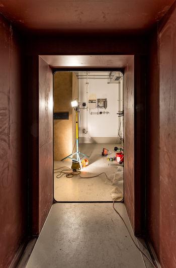 Architecture Built Structure Construction Door Doorway Indoors  No People Vault