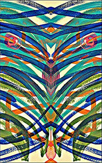 Abstract Original Art Acrylic Painting Tazalaz