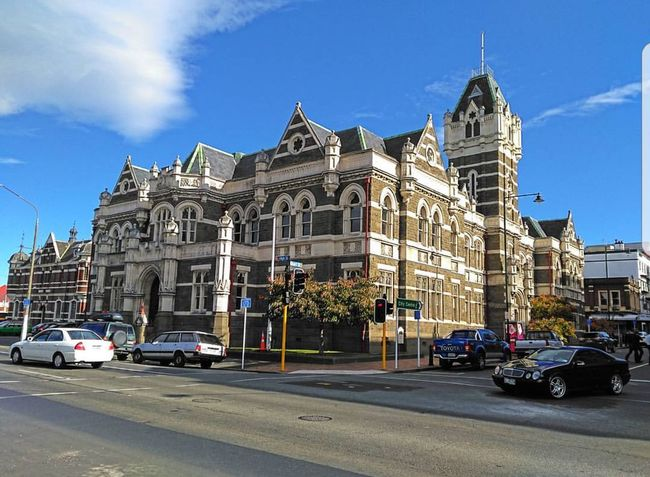 Dunedin Architecture Travel Destinations Car Outdoors Day Sky Statue Building Exterior Politics And Government City No People Let's Go. Together.