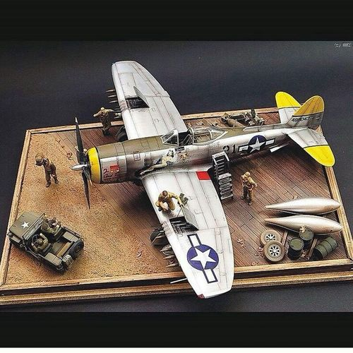 Scalemodel Modelling Close-up Day Indoors  Modelplane Model - Object