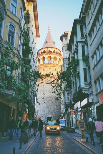 Istanbul Turkey Galata Tower Architecture Travel Destinations Built Structure City Day Taking Photos EyeEm Best Shots Travel Photography Popular Photo This View Hello World